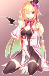 Rating: Safe Score: 37 Tags: cleavage kawasaki_toiro thighhighs wings User: charunetra