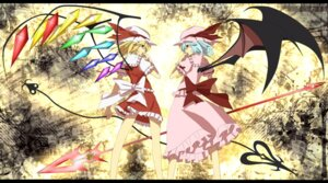 Rating: Safe Score: 13 Tags: flandre_scarlet remilia_scarlet ritsu touhou User: Radioactive