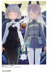 Rating: Safe Score: 9 Tags: eila_ilmatar_juutilainen sanya_v_litvyak shimada_humikane strike_witches tarot User: red_destiny