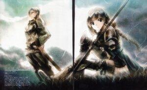 Rating: Safe Score: 5 Tags: armor bleed_through gap kei screening sword tactics_ogre thighhighs User: moetaka_0000