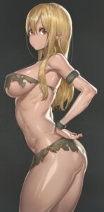 Rating: Safe Score: 88 Tags: ass bikini elf pointy_ears swimsuits torn_clothes underboob yohan1754 User: BenPi