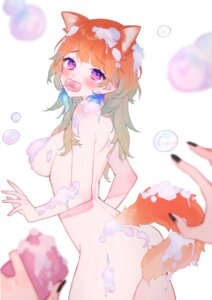Rating: Questionable Score: 21 Tags: animal_ears ass chiyomaru cream hololive hololive_english naked tail takanashi_kiara wet User: BattlequeenYume