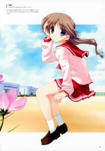Rating: Safe Score: 12 Tags: amaduyu_tatsuki komaki_ikuno seifuku to_heart_(series) to_heart_2 User: Radioactive