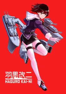 Rating: Safe Score: 13 Tags: garter haguro_(kancolle) heels kantai_collection tomoyo_kai uniform weapon User: charunetra