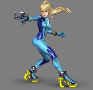 Rating: Questionable Score: 9 Tags: bodysuit gun heels metroid nintendo samus_aran super_smash_bros. transparent_png User: fly24