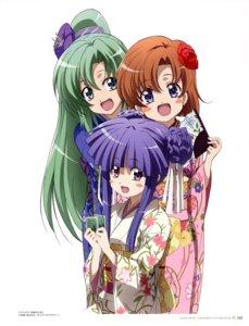 Rating: Safe Score: 9 Tags: furude_rika higurashi_no_naku_koro_ni kimono ryuuguu_rena sonozaki_mion User: admin2
