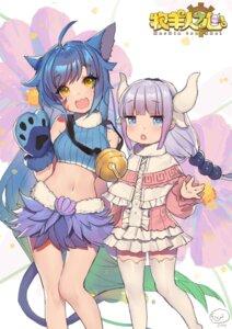 Rating: Safe Score: 13 Tags: animal_ears horns kanna_kamui kobayashi-san_chi_no_maid_dragon tagme tail thighhighs User: Mr_GT