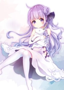 Rating: Safe Score: 41 Tags: azur_lane dress hoshi_no_yurara thighhighs unicorn_(azur_lane) User: Mr_GT