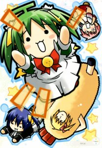 Rating: Safe Score: 5 Tags: black_lemon-chan eretto lemon-chan maron-chan melon-chan melonbooks User: syaoran-kun