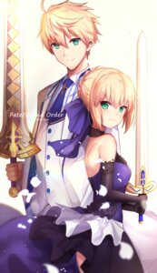 Rating: Safe Score: 23 Tags: dress fate/grand_order fate/prototype fate/stay_night saber saber_(fate/prototype) sword untsue User: Mr_GT