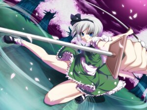 Rating: Safe Score: 31 Tags: konpaku_youmu mino106 sword touhou User: Mr_GT