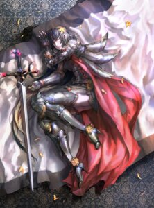 Rating: Safe Score: 22 Tags: armor heels kzcjimmy sword thighhighs User: blooregardo