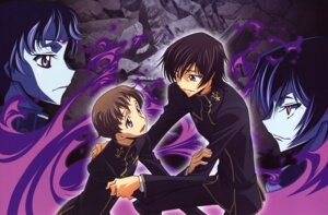 Rating: Safe Score: 8 Tags: code_geass lelouch_lamperouge male rollo_lamperouge sakamoto_shuuji User: hyde333