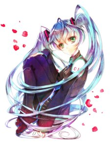 Rating: Safe Score: 8 Tags: akatsuki_(aliceice) hatsune_miku thighhighs vocaloid User: charunetra