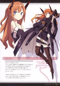 Rating: Safe Score: 32 Tags: asahiage dress mecha_musume poco thighhighs User: fireattack