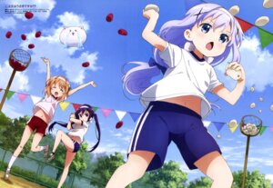 Rating: Safe Score: 86 Tags: buruma gochuumon_wa_usagi_desu_ka? gym_uniform hoto_cocoa kafuu_chino sadakata_kikuko tedeza_rize tippy_(gochuumon_wa_usagi_desu_ka?) User: drop