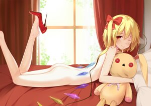 Rating: Questionable Score: 15 Tags: ass flan_(seeyouflan) flandre_scarlet heels loli naked touhou wings User: Mr_GT