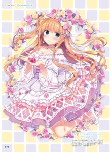 Rating: Safe Score: 65 Tags: cleavage date_situation_zukan dress heels kimishima_ao lolita_fashion saijo_melia User: Twinsenzw