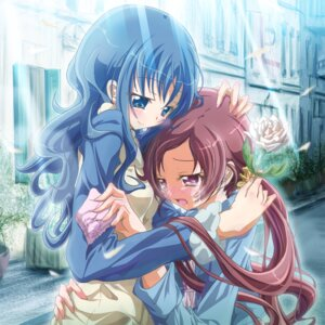Rating: Safe Score: 5 Tags: hanasaki_tsubomi heartcatch_pretty_cure! inoshishi kurumi_erika pretty_cure User: eridani
