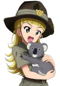 Rating: Safe Score: 7 Tags: girls_und_panzer kanau koala_(girls_und_panzer) uniform wallaby_(girls_und_panzer) User: drop
