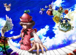Rating: Safe Score: 4 Tags: fairy lily_white lyrica_prismriver tanaka_kusao touhou User: konstargirl