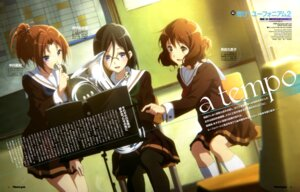 Rating: Safe Score: 9 Tags: hibike!_euphonium megane pantyhose seifuku takase_akiko User: drop