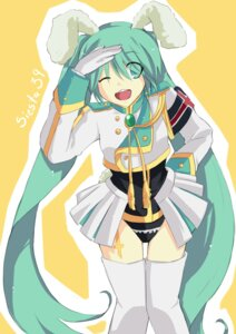 Rating: Safe Score: 11 Tags: animal_ears bunny_ears cosplay hatsune_miku hikusa umineko_no_naku_koro_ni vocaloid User: charunetra