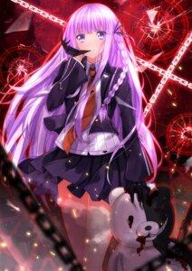 Rating: Safe Score: 61 Tags: blood dangan-ronpa kirigiri_kyouko monokuma seifuku swordsouls weapon User: SubaruSumeragi
