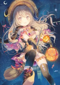 Rating: Safe Score: 68 Tags: dress halloween iori_yosuga thighhighs witch User: Mr_GT