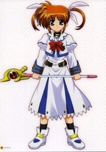 Rating: Safe Score: 4 Tags: mahou_shoujo_lyrical_nanoha takamachi_nanoha User: Radioactive