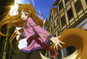 Rating: Safe Score: 39 Tags: animal_ears holo scanning_resolution shinohara_kenji spice_and_wolf tail User: Onpu