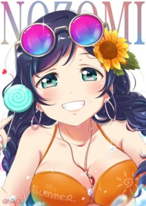 Rating: Safe Score: 4 Tags: bikini_top cleavage love_live! megane nacl swimsuits toujou_nozomi wet User: Spidey