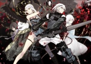 Rating: Safe Score: 34 Tags: bandages izumito kaine_(nier) nier pantsu sword User: Radioactive