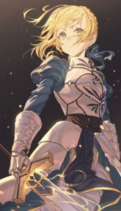 Rating: Safe Score: 26 Tags: armor dress fate/stay_night hong saber sword User: yanis