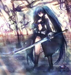 Rating: Safe Score: 30 Tags: black_rock_shooter black_rock_shooter_(character) mamuru sword vocaloid User: Riven