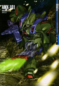 Rating: Safe Score: 8 Tags: gun gundam gundam_zz mecha shigeta_atsushi weapon zeta_gundam User: drop