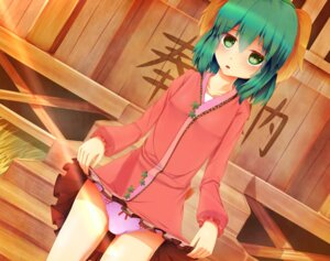 Rating: Questionable Score: 33 Tags: dress kasodani_kyouko pantsu seneto skirt_lift touhou User: Zenex