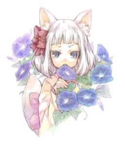 Rating: Safe Score: 11 Tags: ameiro animal_ears nekomimi User: Nekotsúh
