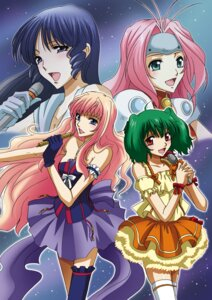 Rating: Safe Score: 8 Tags: dress lynn_minmay macross macross_7 macross_frontier mylene_flare_jenius ranka_lee sheryl_nome the_super_dimension_fortress_macross thighhighs tsunoda_wei User: yumichi-sama