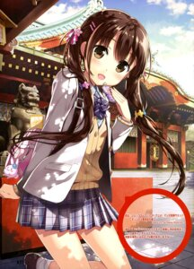 Rating: Safe Score: 83 Tags: fujima_takuya seifuku shinto_shrine sweater User: drop