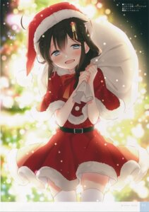 Rating: Safe Score: 19 Tags: christmas kantai_collection moni naoto shigure_(kancolle) thighhighs User: kiyoe
