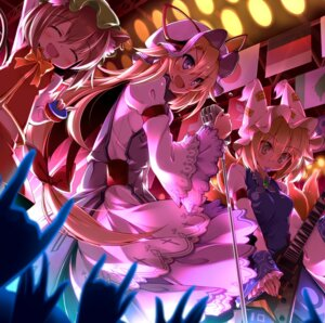 Rating: Safe Score: 29 Tags: animal_ears chen guitar rondo_umigame tail touhou yakumo_ran yakumo_yukari User: Mr_GT