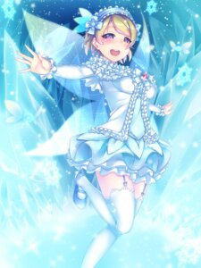 Rating: Safe Score: 27 Tags: gacchu koizumi_hanayo love_live! stockings thighhighs wings User: Mr_GT