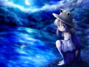Rating: Safe Score: 12 Tags: akashio moriya_suwako touhou wallpaper User: konstargirl