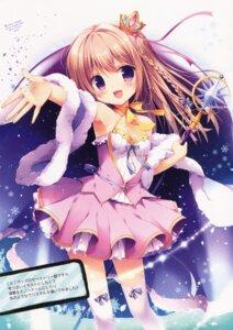 Rating: Safe Score: 71 Tags: brown_sugar cleavage dress miyasaka_nako thighhighs weapon User: 麻里子