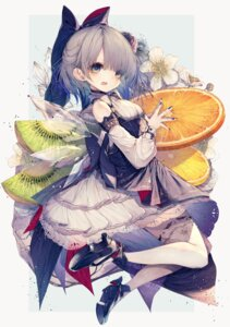 Rating: Questionable Score: 24 Tags: cirno heels hito_komoru thighhighs touhou wings User: Dreista