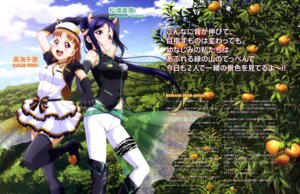 Rating: Safe Score: 25 Tags: animal_ears dress heels love_live!_sunshine!! matsuura_kanan suzuki_isamu takami_chika thighhighs User: drop