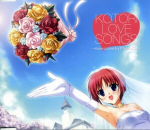 Rating: Safe Score: 9 Tags: da_capo da_capo_(series) disc_cover dress konata kotori_love_ex_p shirakawa_kotori wedding_dress User: acas