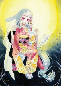 Rating: Safe Score: 7 Tags: kimono yamanashi_mashiro User: Radioactive