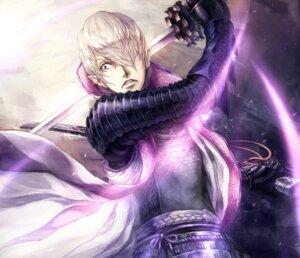 Rating: Safe Score: 5 Tags: armor ishida_mitsunari ishida_mitsunari_(basara) lira_mist male sengoku_basara sword User: Radioactive